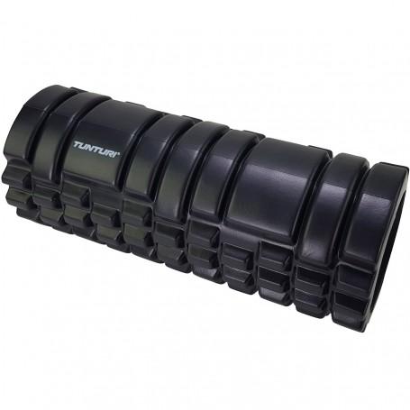 Tunturi Yoga Schaumblock Massageroller 33 cm Schwarz