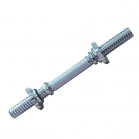 Tunturi Kurzhantelstange mit 30 mm Schraubverschlüssen 36 cm