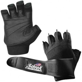 Schiek Sports Handschuhe mit Handgelenkbandage Model 540